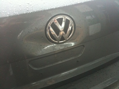 VW Paintless Dent Repair (Before)